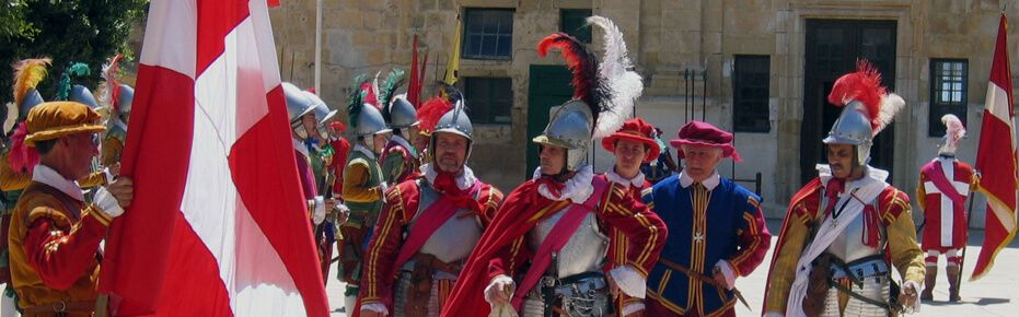 The Knights in Malta